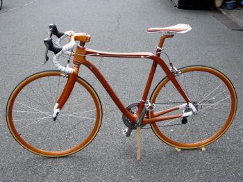 マホガニーバイク