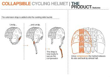 Collapsible Helmet, by Michael Rose