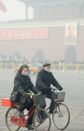 PM2・5、注意報・警報も検討