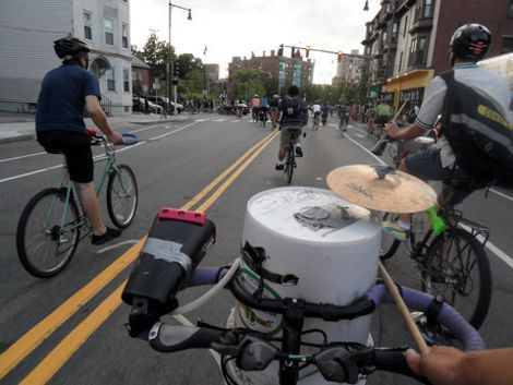 Drum-Biking, thehum.bostonbiker.org
