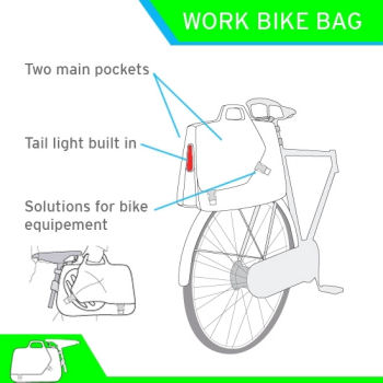 work bike bag