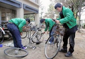 放置自転車再生