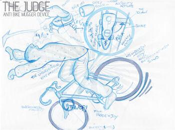 自転車 鍵 自転車 鍵 面白い : ワイヤーを切断すると、インク ...