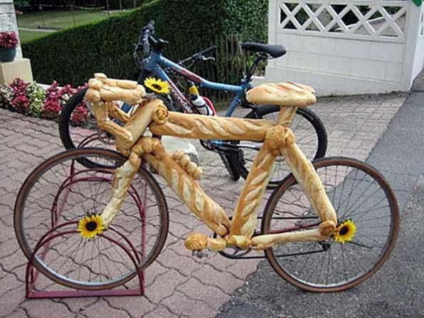 食べられる自転車
