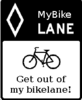 Get out of my bike lane!