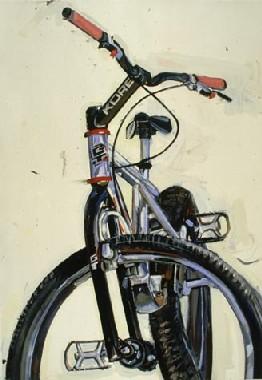 自転車を描く