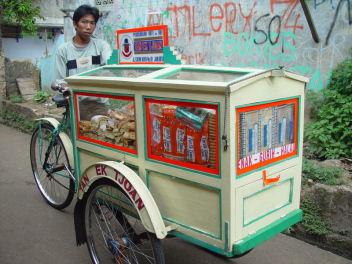 ハンドメイドの自転車