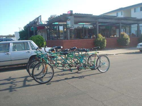 9人乗り6輪自転車