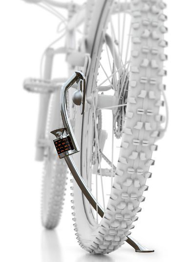 Kick Stand And Lock!, www.yankodesign.com