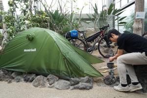 自転車キャンプ