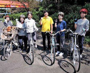 自転車乗れない女性の合宿