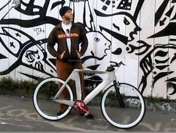 Ronin Bicycle Works: Hand-Folded Metal Bicycle Frame