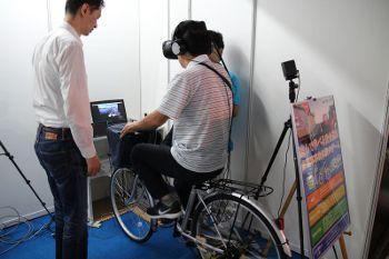 VRで体験