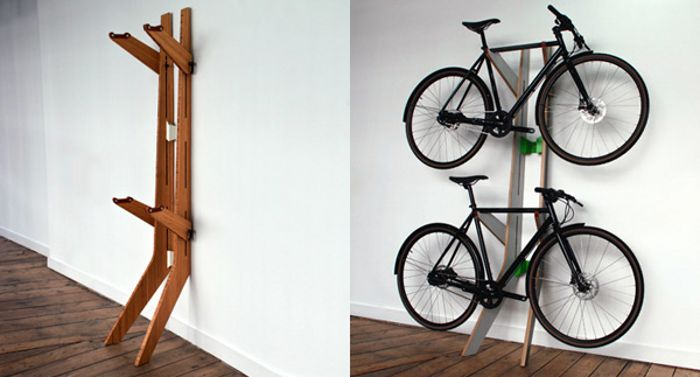 Sculptural Bike Racks Rock