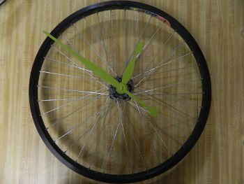 Bicycle Wall Clock, www.etsy.com