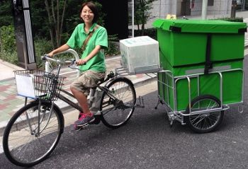 自転車配送