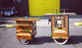 Mini Mobile Bike Carts
