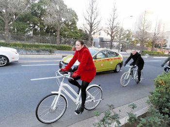 五輪へ東京の魅力向上…鍵は自転車?