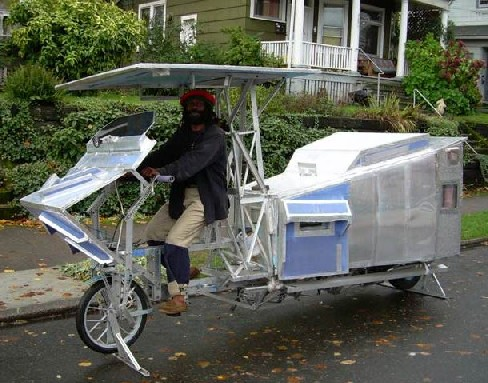 Motorhome bike