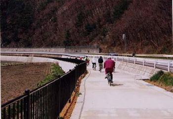 観光サイクリングロード