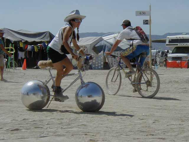 サイクルボール?