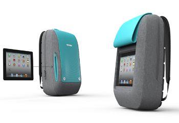 iPad backpack, www.behance.net