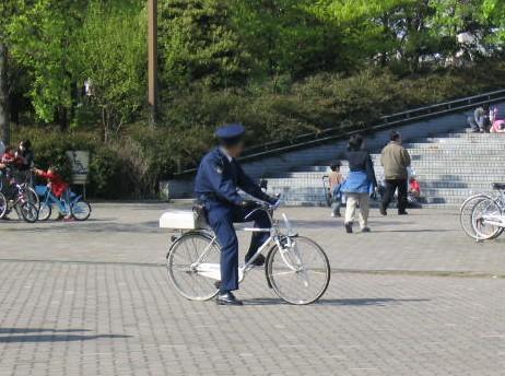 日本のお巡りさん