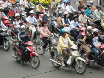 やはり自転車の割合は減っているようだ