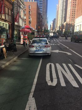 Cops in Bike Lanes