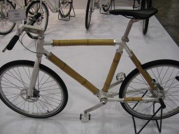竹製チューブのフレーム