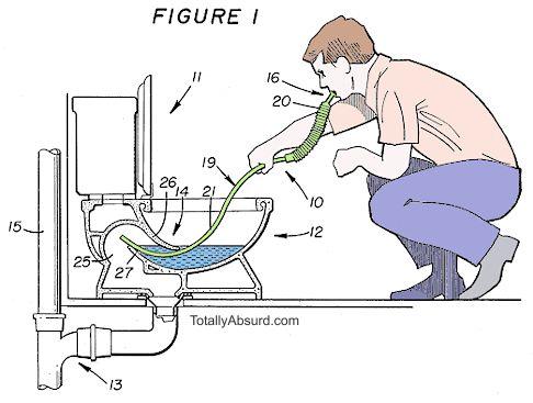 Image Toilet Snorkel, totallyabsurd.com