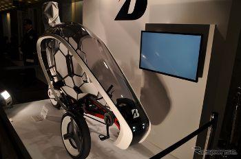 未来の電動自転車
