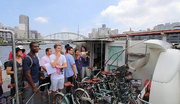 船と自転車