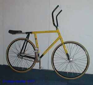 専用の自転車