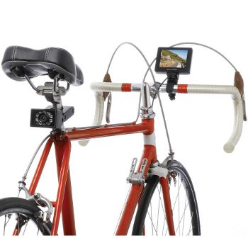 The Bicycle Rearview Camera, www.hammacher.com