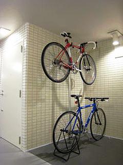 各階に駐輪