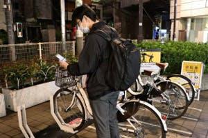 必要な外出は自転車