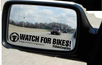 Watch for Bikes!