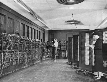Eniac,This image is in the public domain.