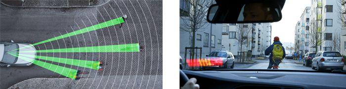自転車検知機能付フルオートブレーキ・システム