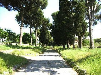 Via Appia Antica, Rome, Photo by Lora Beebe,licensed under the Creative Commons Attribution ShareAlike 3.0 Unported.