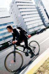 自転車通勤族