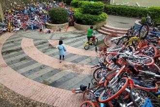 中国シェア自転車