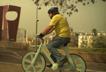 Izhar cardboard bike project