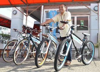 自転車島巡り