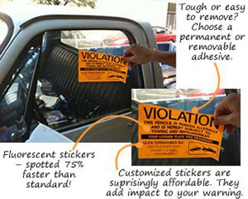 ScrapeIt™ Parking Violation Stickers