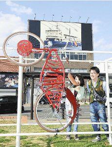装飾自転車