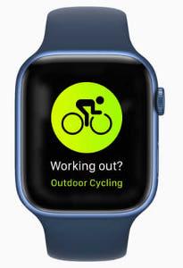 自転車乗車を自動検出