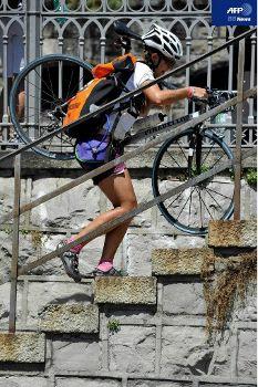 「自転車便」の世界王者決定