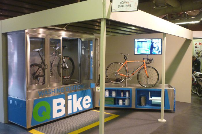 QBike Washing Station and Service Station, novatec.pro.portal.agomir.com